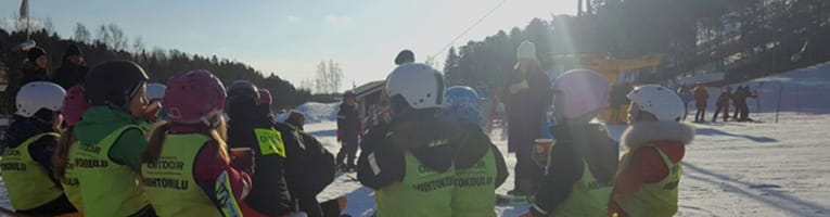 Skiing School in Hirvensalo
